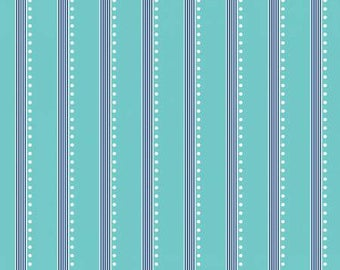 Aqua Stripe-Bree by Benartex 170241