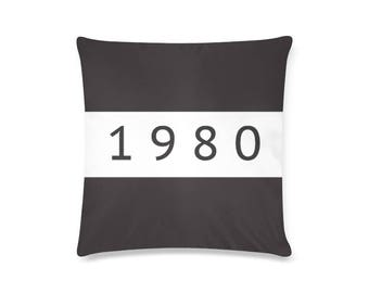 1980 Vintage Cushion Cover