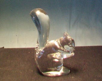 Baccarat Crystal Squirrel Figurine