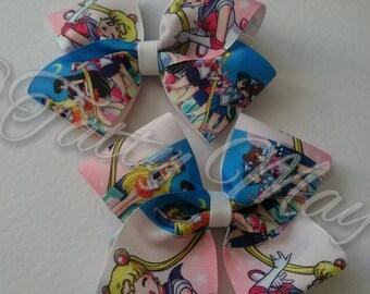Sailor Moon Hair Bows