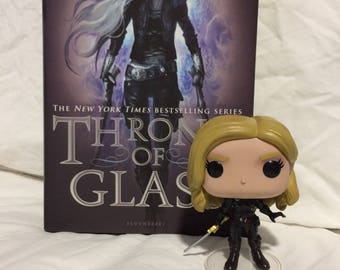 Custom- Funko Pop - Celaena - Aelin - Throne of Glass - Sarah J Maas
