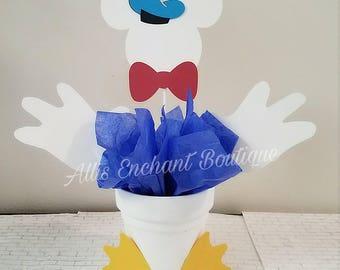 Donald Duck Centerpiece Disney Donald Duck Character Disney Birthday Party Kids Party