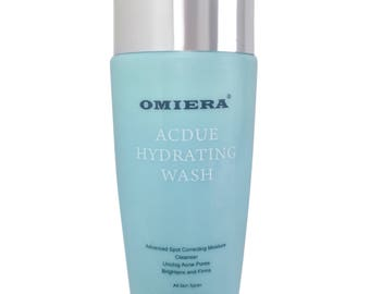 Acdue Acne Hydrating Face Cleanser by Omiera Labs