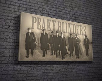 Peaky Blinders Sketch Canvas Design
