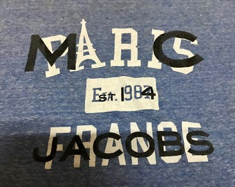 Marc Jacobs For France Rayon T Shirt Size XL Free Shipping