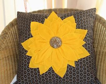 Sunflower Chair sunflower cushion | etsy
