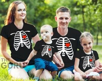 Halloween shirt halloween costume skeleton shirts halloween family shirts halloween skeleton shirt skeleton outfit funny halloween shirts