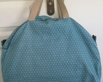 Turquoise weekend bag