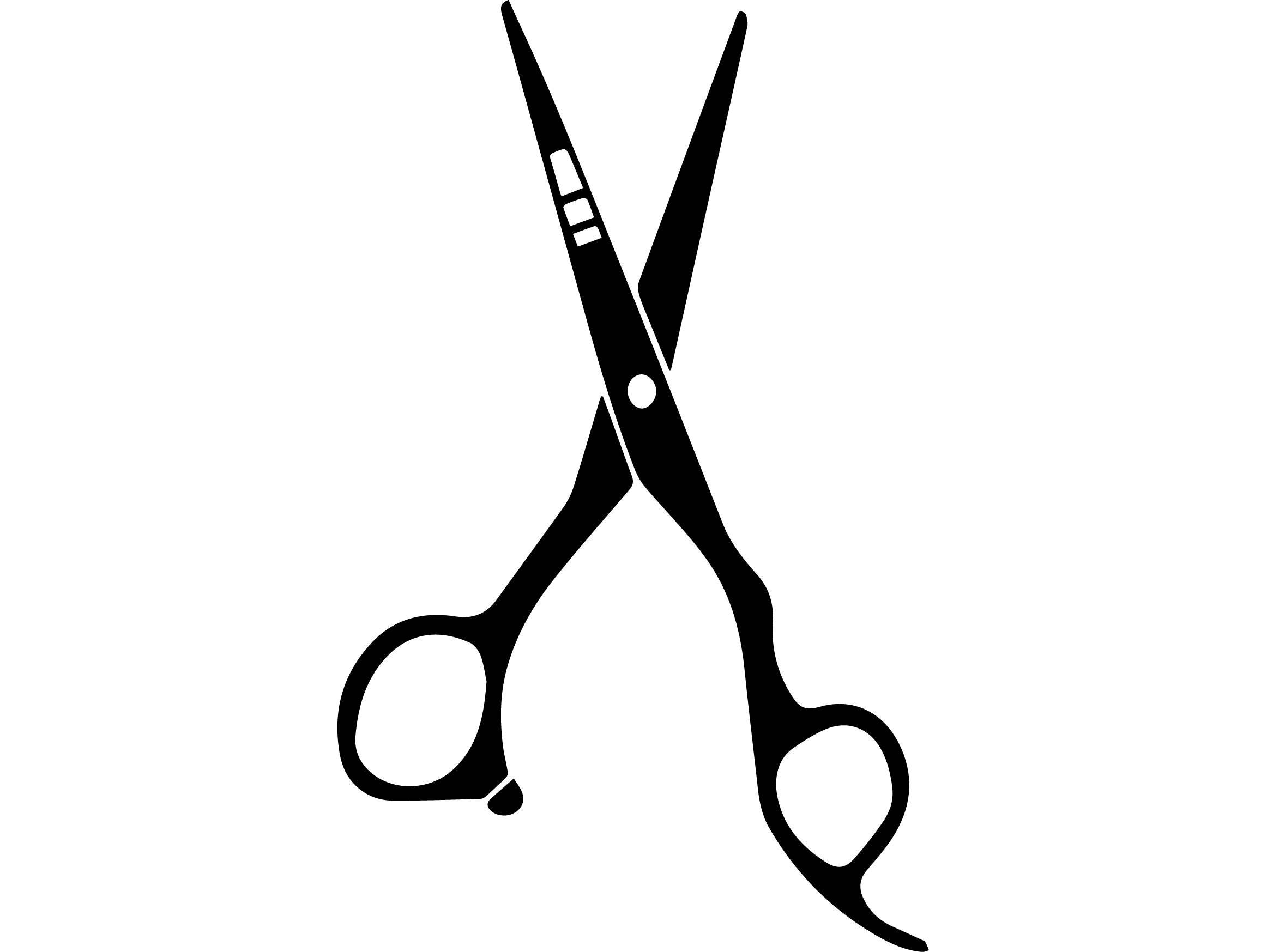 scissors comb barber tools grooming salon blade stripes barbershop  svg  eps  png vector space