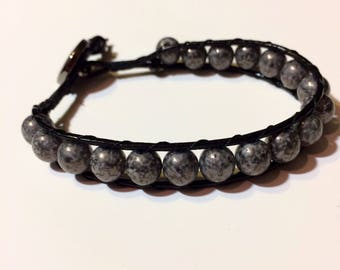 Beaded Bracelet/ Boho Bead/ Leather Bracelet/ Bead Bracelet/ Boho Leather Bracelet/ Bohemian Bracelet