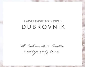 Dubrovnik Croatia Hashtags | Travel Hashtags Instagram | Instagram Marketing | Travel Blogger | Hashtag Research | Grow Your Instagram