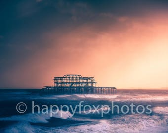 Instant photo download West Pier Brighton
