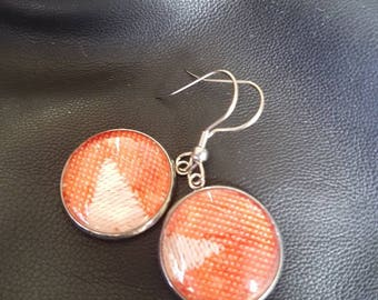 Wrap scrap earrings featuring Ankalia Pinnacle Clementine