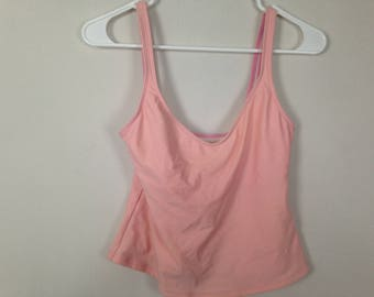 Baby pink sports tank top size S/M