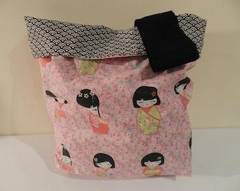 Kokeshi laundry bag