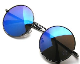 ASOS Oval Sunglasses In Black