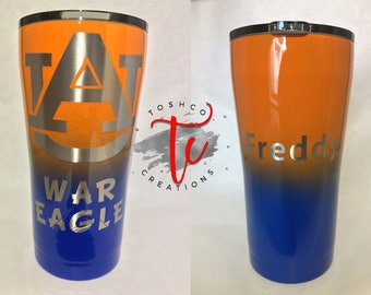 20 oz Stainless Steel Ozark Trail Tumbler/Ombre/ Sports