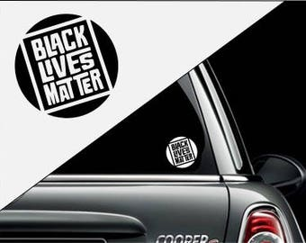 Black Lives Matter Sticker Decal for Car, Window, Water Bottles, Laptops, Cooler, Yeti's and More!
