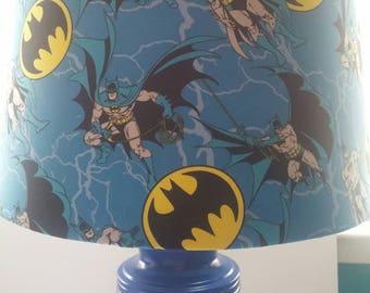 Custom Adam West Batman Lamp