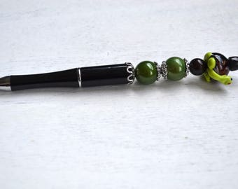 "Jewelry pen ""FRANKLIN the TURTLE"""