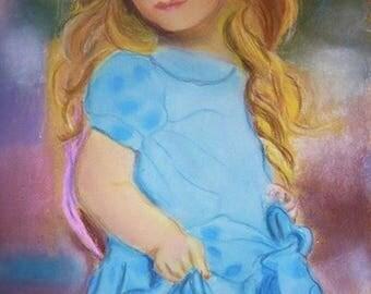 Pastel girl type doll