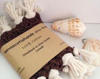 Handmade Cotton Coasters Set of 2