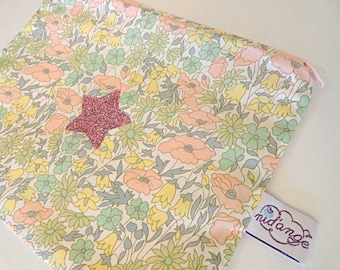 Pouch / clutch Liberty Margaret pastel pink in STOCK
