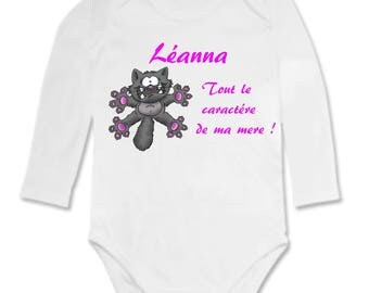 Bodysuit for the nature of my mom personalized with name