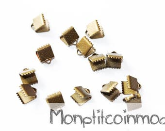6mm - set of 30 caps for Ribbon or bias claw clips