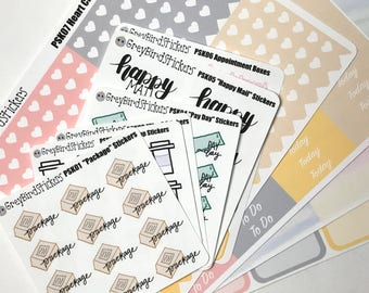 Planner Starter Kit || 160 Stickers for any Planner or Journal!