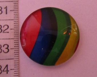 glass cabochon 30mm in diameter