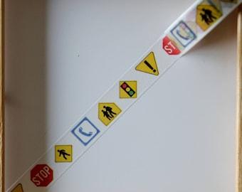 "Masking tape - pattern ""Panel of light"" - 1.5 cm x 10 m"