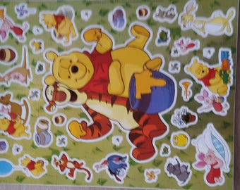 Yellow bear stickers stickers