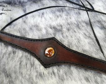 Tiara Collection Kiiltava veg-Tan Leather