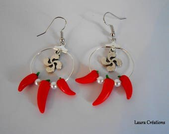 Chili Basque earring