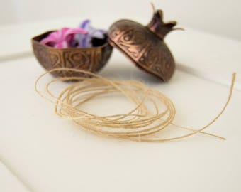 Label string, Twine, Jute cord