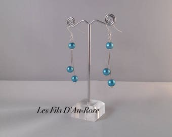 LOVE turquoise earrings