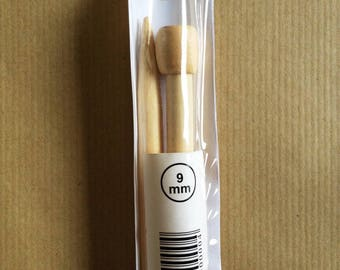 Needles N ° 9 bamboo 35CM