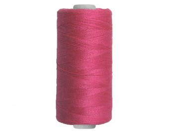 Spool sewing thread / raspberry pink / 250 m