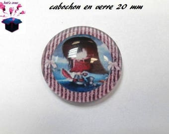 1 cabochon clear 20mm child theme