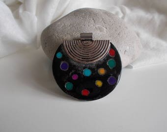 for jewelry making polymer clay pendant