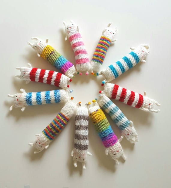 Hand-Knitted Kitty Kickers