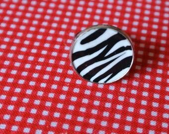 ring metal Zebra