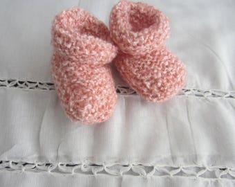 """""""Soft"""" slippers 1 month pink"""