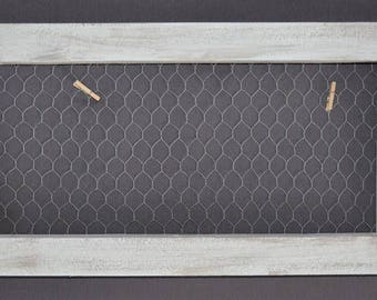 Frame distressed grey/white - roasting chicken
