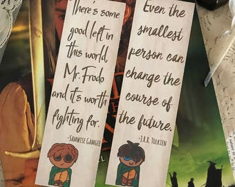 Lord of the Rings Bookmarks, JRR Tolkien Bookmarks, Middle Earth Bookmarks, LOTR Bookmarks, Hobbit Bookmark, Wanderlust Bookmark, Book Lover