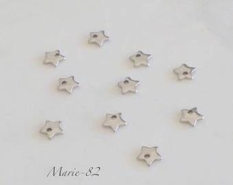 Mini stars - charm stainless steel