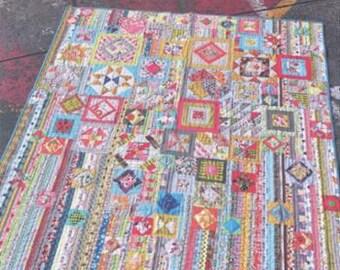 Gypsy Wife quilt pattern book  by Jen Kingwell