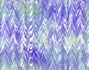 New Belle watercolor chevron from QT Fabrics 26420VW