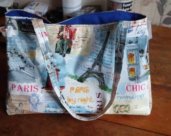 chic waxed canvas bag